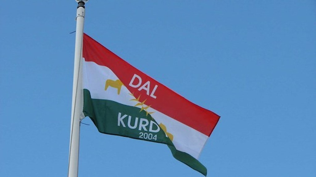 Dalkurds flagga