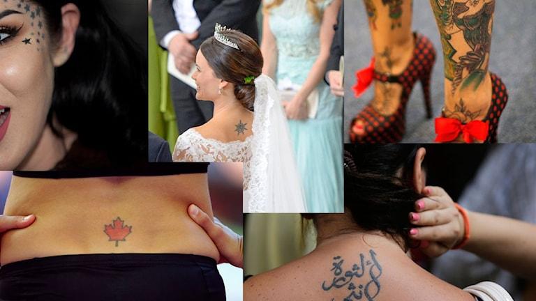 Flera tatueringar