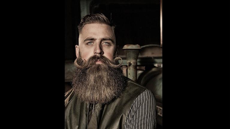 Björn Ramstedt. Foto: En karl med skägg
