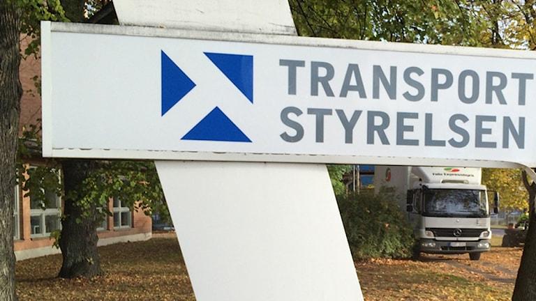 Skylt Transportstyrelsen