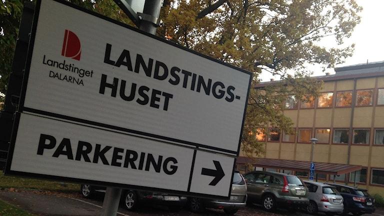 Landstingsskylt