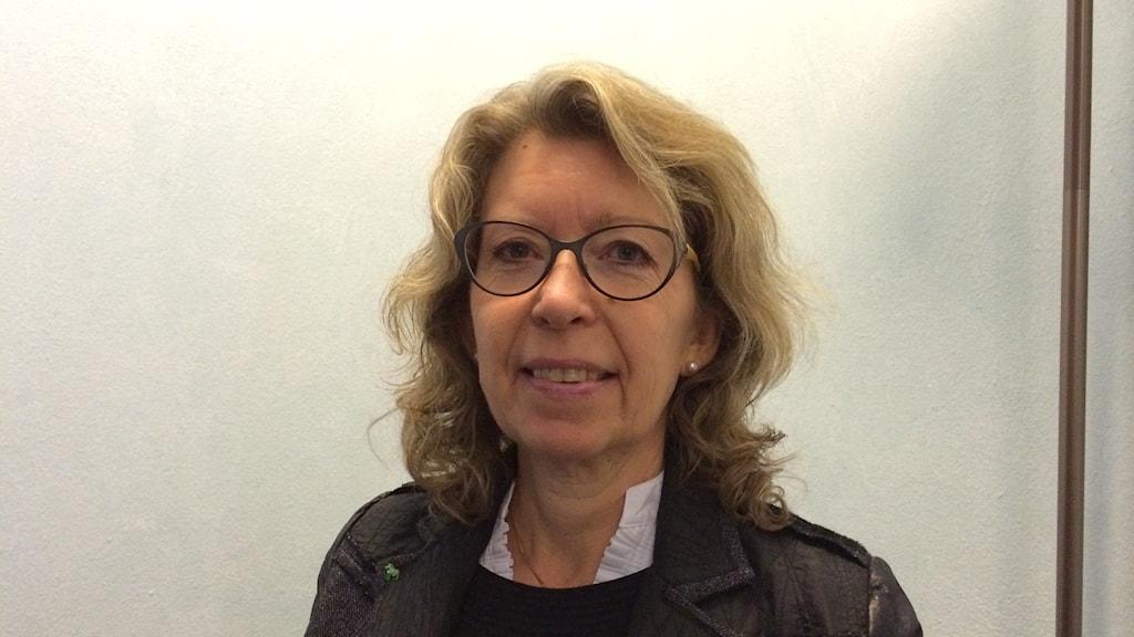 Lena Reyier, centerpartistiskt oppositionsråd i landstinget Dalarna.