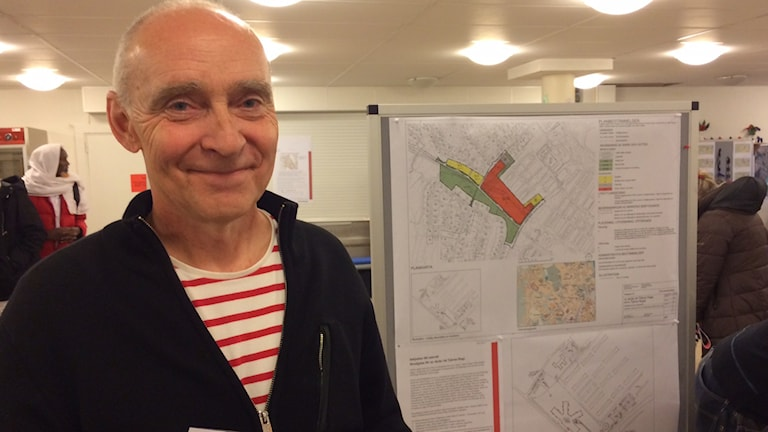 Samhällsbyggnadsstrateg Steve Johnson i Borlänge