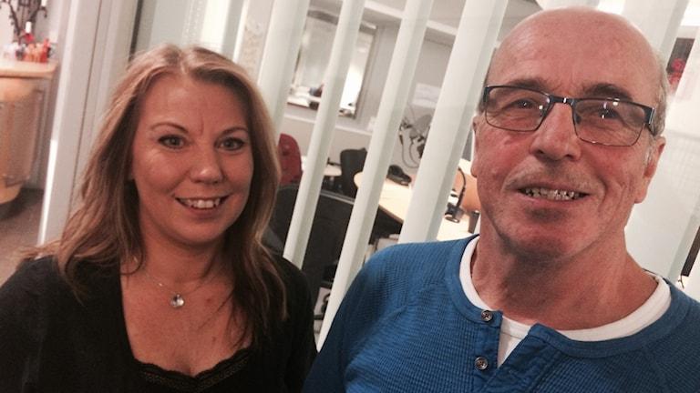 Karin Blom och Hasse Ström från Järna Revyn.
