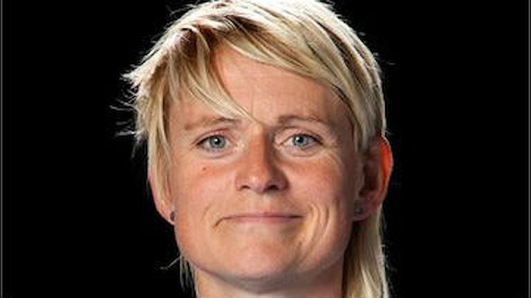 IBF Faluns tränare Camilla Granelid