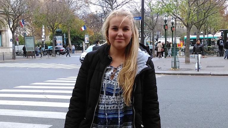 Amalia Andersson från Mora är i Paris