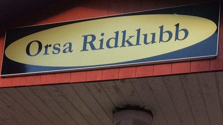 Orsa Ridklubb.
