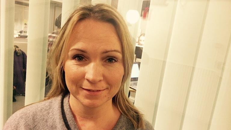 Monica Lundin, Folkpartiet. Foto: Martin Eriksson / Sveriges Radio.