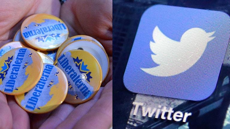 Liberalerna och twitter