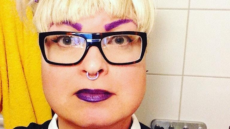 Johanna Marseille tycker att situationen för transpersoner håller på att bli bättre. Foto: Privat