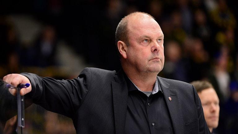 Leksands IF:s tränare Per-Erik Johnsson
