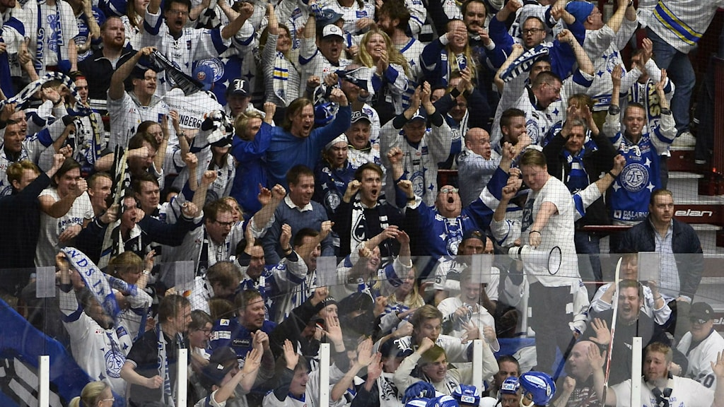 Leksands IF supportrar.