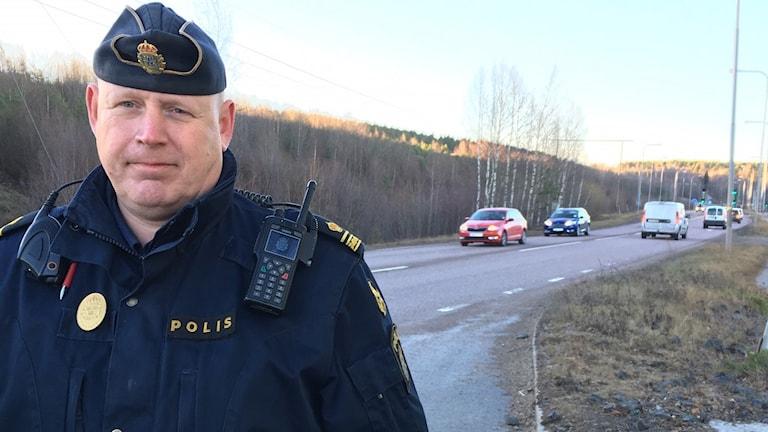Johan Alm gruppchef Trafikpolisen Dalarna