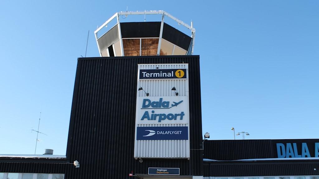 Dala airport i Borlänge