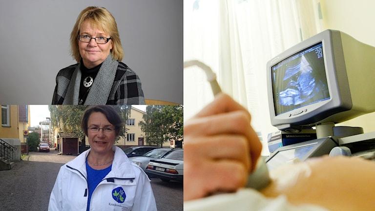 Debatt mellan Lena Olsson och Birgitta Sacrédeus idag