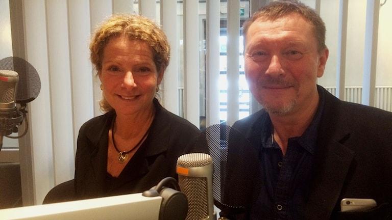 Cilla Benkö och Björn Löfdahl
