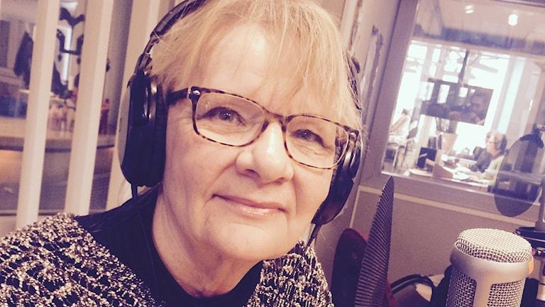 Aino Trosell. Foto: Martin Eriksson / Sveriges Radio.