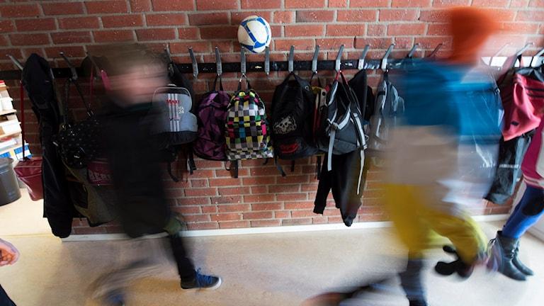 Elever på en skola