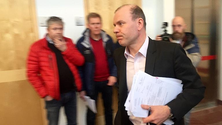 Kammaråklagare Johan Knies. Foto: Josef Björnetun