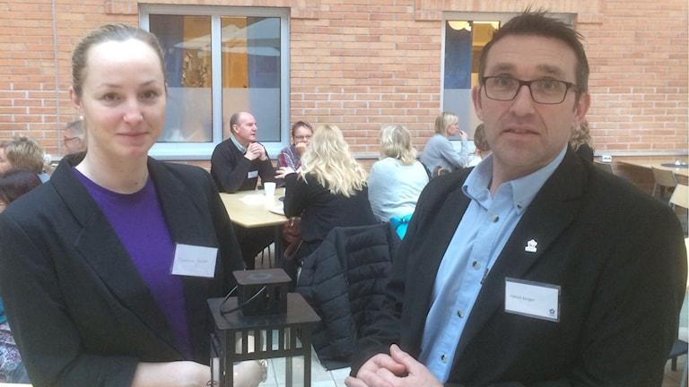 Patrick Kenger och Madeleine Jansson Högskolan Dalarna