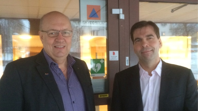 Ulf Berg (M) och Christer Carlsson (M)