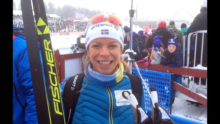 Bilden visar Maria Rydqvist.