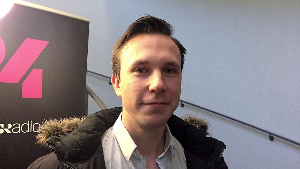 Bilden visar Jonas Grenfeldt, vd för Panang.