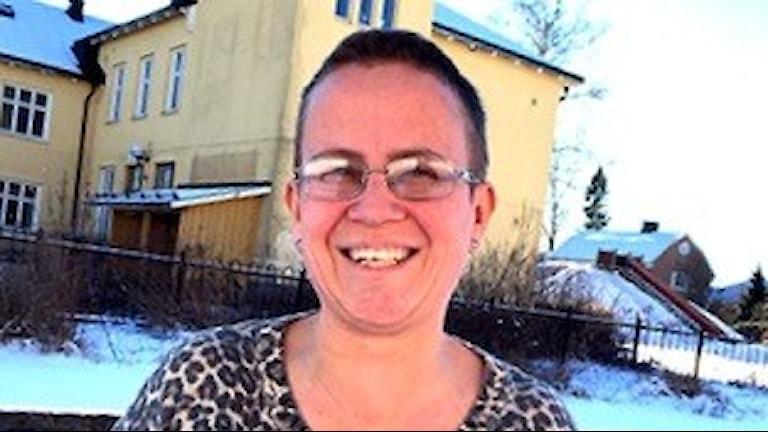 Jenny Jansson, årets fysiklärare 2016. Foto: Ludviak Kommun.