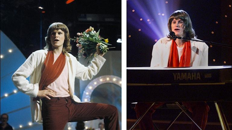 BIlden visar Ted Gärdestad och Johan Eriksson (Ted Gärdestad-imitatör).