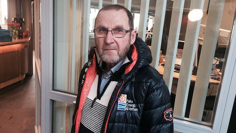 Bilden visar Ragnar Kroona, socialdemokratisk styrelseordförande för Falu Energi och Vatten.