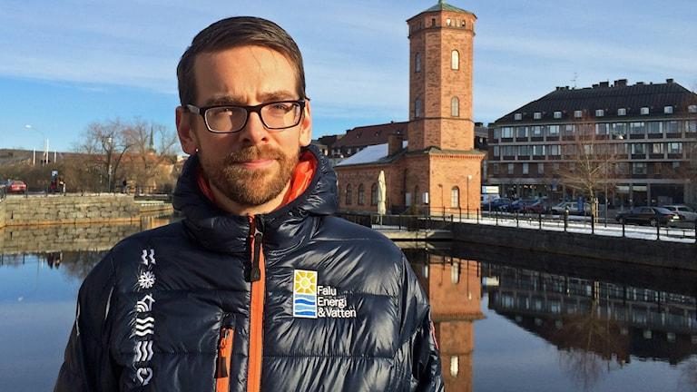 Fredrik Wemming elnätschef Falu Energi och Vatten