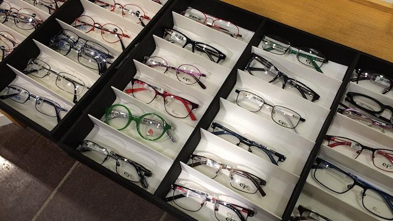 Glasögon till barn.