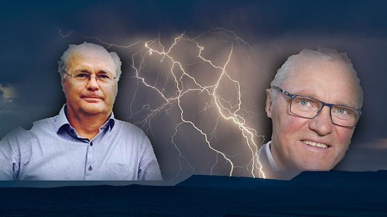 Peter Egardt och Kjell Tenn