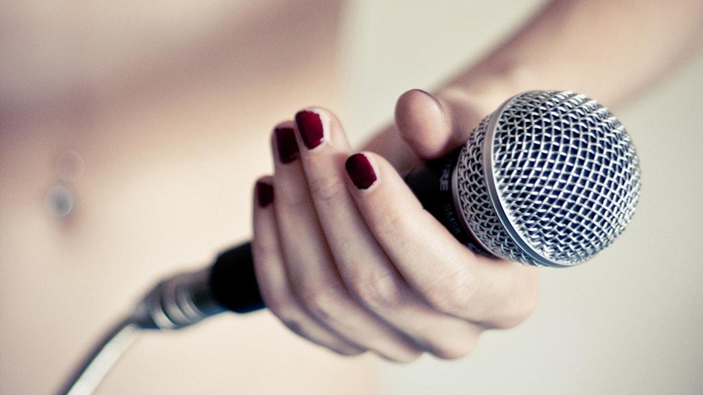 En mikrofon