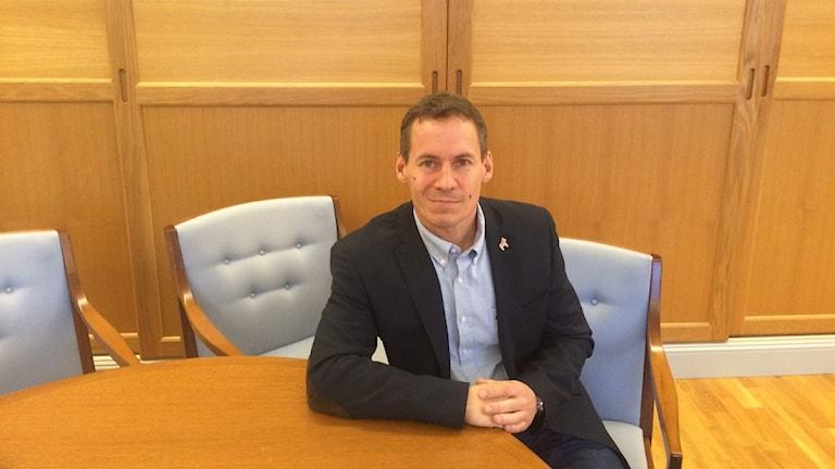 Kommundirektör i Falun.
