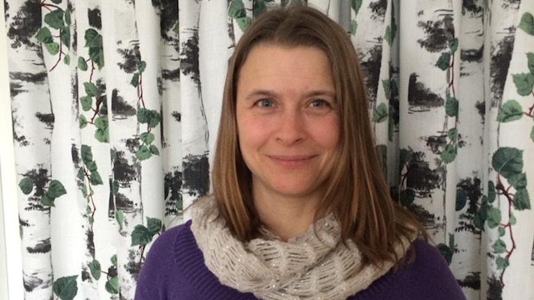 Maria Saxe jobbar med energi- och miljösamordning på Länsstyrelsen Dalarna.