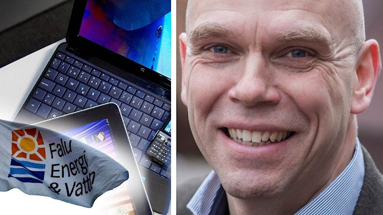 Bilden är ett montage och visar bland annat Jan Fahlén.
