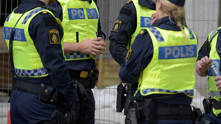 Att brottsligheten skulle öka och att färre känner sig trygga är en bild som forskningen motbevisar. Foto: Janerik Henriksson / TT.