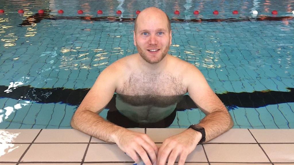 Mats Goldberg från Säter ska simma hela dalälven i sommar.