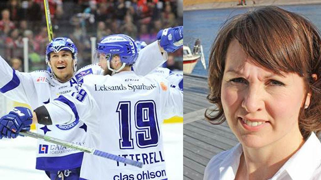 Leksands IF och Ulrika Liljeberg (C)