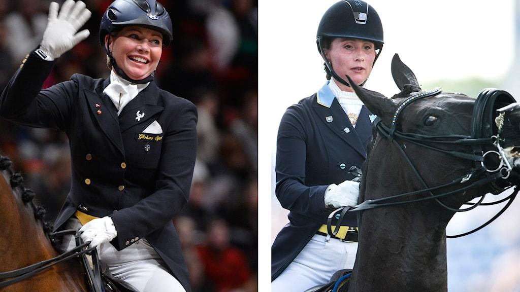 Charlotte Haid Bondergaard och Minna Telde