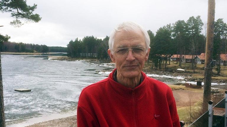 Ordförande för Nätverket Omställning Falun, Bernt Lindberg.
