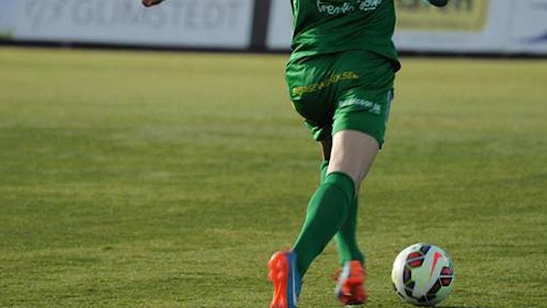 En spelare i Dalkurd