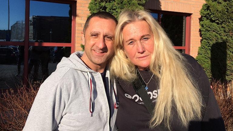 Samir Sabri, föreläsare och Marie Forsberg, projektledare för Goodsport.