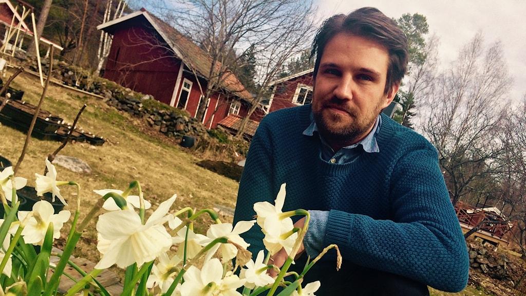 André Strömqvist, trädgårdsmästare.