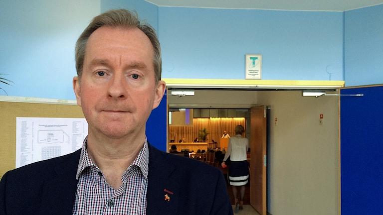 Bilden visar Peter Hansson, ekonomidirektör i landstinget Dalarna.