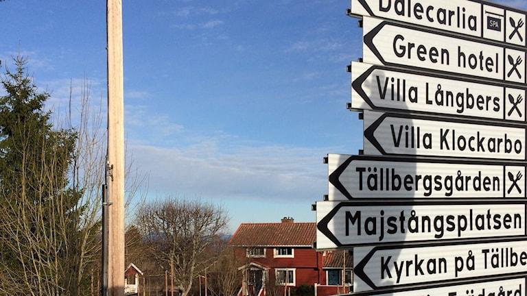 Åtta hotell i byn gör Tällberg till Sveriges hotelltätaste.