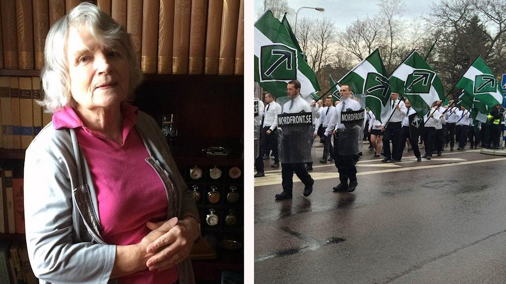 Vera Oredsson och Nordiska motståndsrörelsen