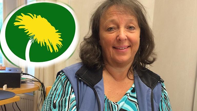 Kerstin Lundh, ordförande för Miljöpartiet i Dalarna