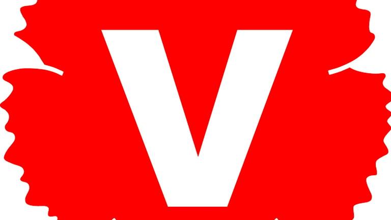 Vänsterpartiets logga.